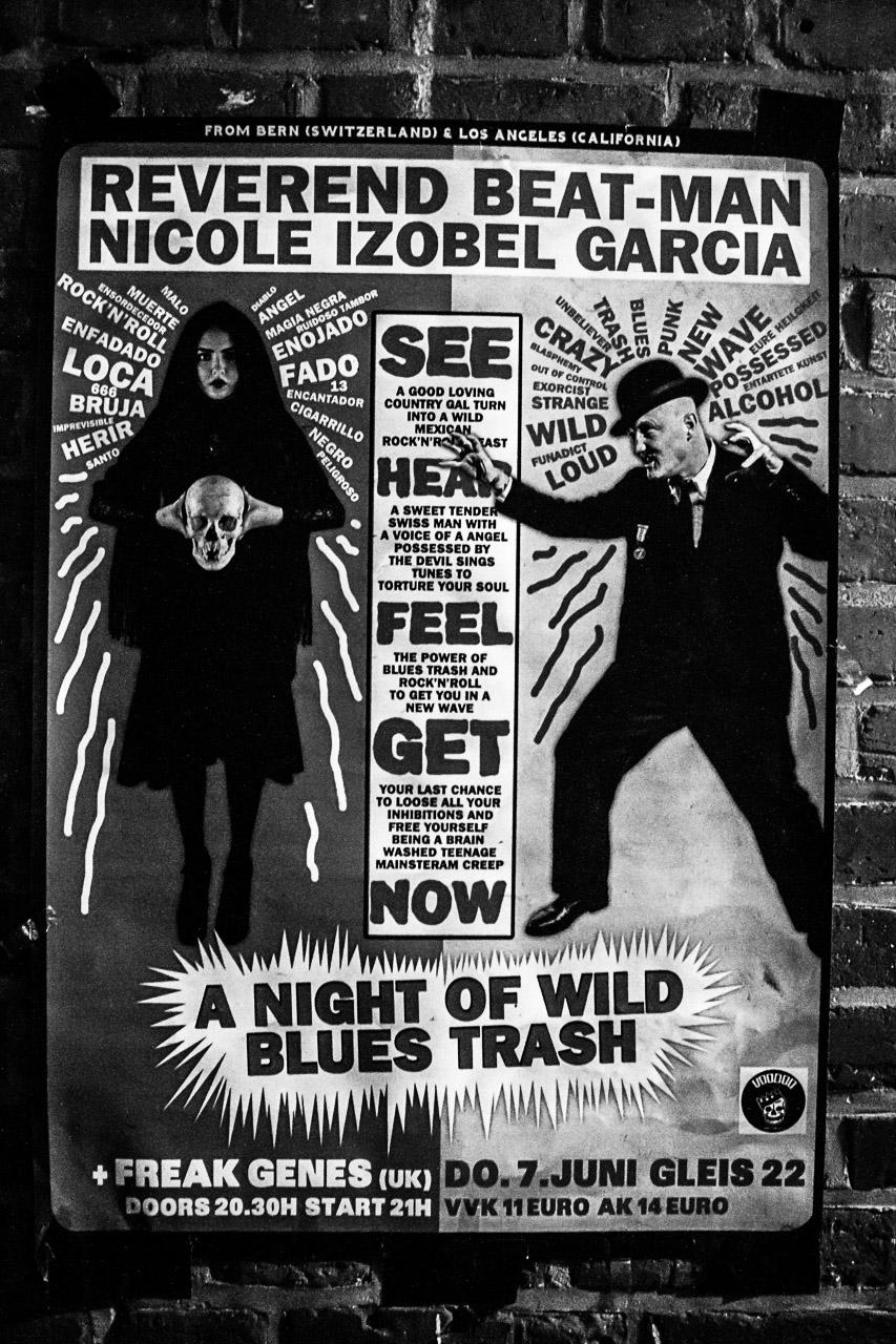 Reverend Beat-Man & Sister Nicole Izobel Garcia + Freak Genes
